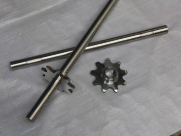 金属网带配件-lian轴